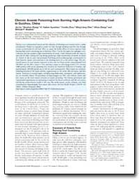 Chronic Arsenic Poisoning from Burning H... by Zhou, Yunshu