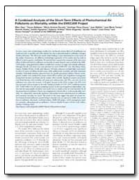 A Combined Analysis of the Short-Term Ef... by Ballester, Ferran