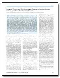Inorganic Mercury and Methylmercury in P... by Ask, Karolin