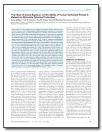 The Effect of Ozone Exposure on the Abil... by Umstead, Todd M.