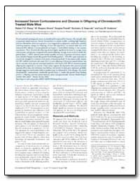 Increased Serum Corticosterone and Gluco... by Cheng, Robert Y. S.
