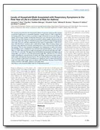 Levels of Household Mold Associated with... by Gent, Janneane F.