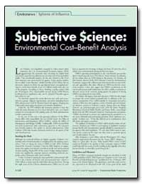Subjective Science : Environews Spheres ... by Schmidt, Charles W.