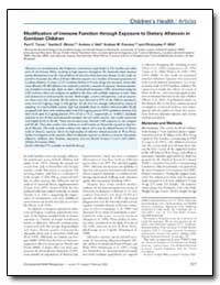 Modification of Immune Function through ... by Turner, Paul C.