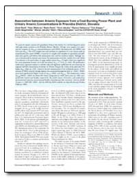Association between Arsenic Exposure fro... by Ranft, Ulrich