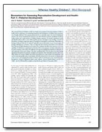 Biomarkers for Assessing Reproductive De... by Rockett, John C.