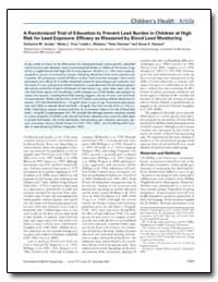 A Randomized Trial of Education to Preve... by Jordan, Catherine M.