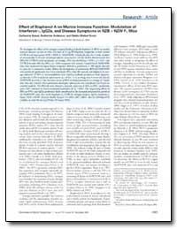 Effect of Bisphenol a on Murine Immune F... by Anderson, Katherine