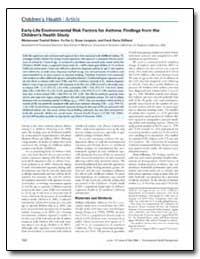 Early-Life Environmental Risk Factors fo... by Gilliland, Frank Davis