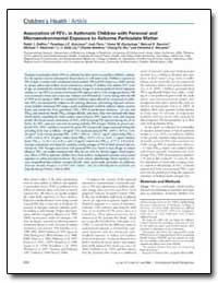 Environmental Health Perspectives, Vol. ... by Delfino, Ralph J.