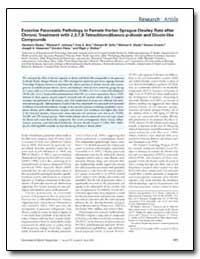 Exocrine Pancreatic Pathology in Female ... by Jokinen, Micheal P.