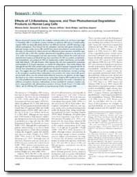 Effects of 1, 3-Butadiene, Isoprene, And... by Doyle, Melanie
