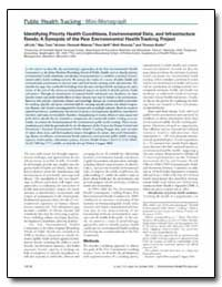Identifying Priority Health Conditions, ... by Burke, Thomas