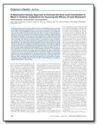 A Noninvasive Isotopic Approach to Estim... by Gwiazda, Roberto H.