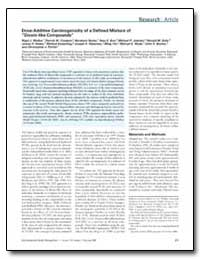 Dose-Additive Carcinogenicity of a Defin... by Walker, Nigel J.