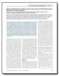 Vascular Dysfunction in Patients with Ch... by Fujimoto, Wataru