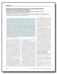 Inorganic Arsenite Potentiates Vasoconst... by Lee, Moo-Yeol