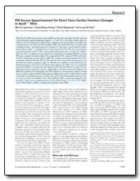Pm Source Apportionment for Short-Term C... by Lippmann, Morton