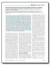 Prenatal Dichlorodiphenyldichloroethylen... by Sunyer, Jordi