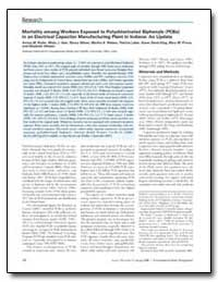 Mortality Among Workers Exposed to Polyc... by Ruder, Avima M., Ph. D.