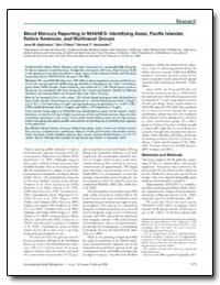 Blood Mercury Reporting in Nhanes : Iden... by Hightower, Jane M.