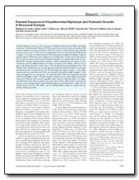 Prenatal Exposure to Polychlorinated Bip... by Lamb, Matthew R.