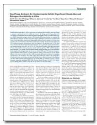 Gas-Phase Ambient Air Contaminants Exhib... by Klein, Gail P.