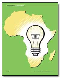 Biogas a Bright Idea for Africa by Brown, Valerie J.