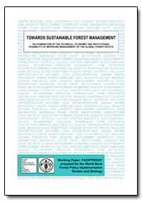 Towards Sustainable Forest Management an... by Food and Agriculture Organization of the United Na...