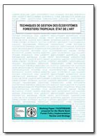 Techniques de Gestion des Ecosystemes Fo... by Durst, Patrick B.