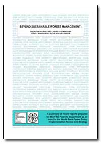 Beyond Sustainable Forest Management : O... by Whiteman, Adrian