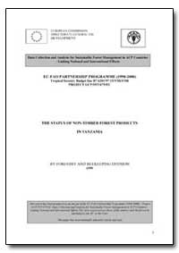 The Status of Non-Timber Forest Products... by Food and Agriculture Organization of the United Na...