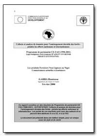 Les Produits Forestiers Non-Ligneux au N... by Hamissou, Garba