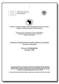 La Revue et Lamelioration des Donnees Re... by Ndabirorere, Salvator