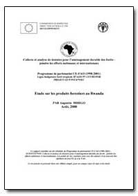 Étude sur les Produits Forestiers au Rwa... by Mihigo, M. Augustin