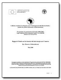 Rapport Detude sur les Donnees du Bois-E... by Abdourahaman, Ben Houssen