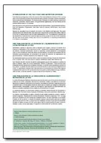 A Publication of the Fao Food and Nutrit... by Food and Agriculture Organization of the United Na...