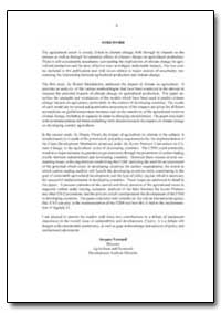 Foreword by Food and Agriculture Organization of the United Na...