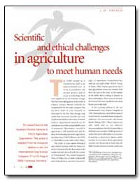 Scientific and Ethical Challenges in Agr... by Food and Agriculture Organization of the United Na...