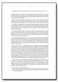 Introduction and General Description of ... by Food and Agriculture Organization of the United Na...