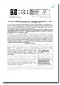 Qualite et Innocuite des Aliments et Com... by Food and Agriculture Organization of the United Na...