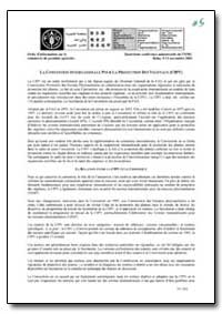 La Convention Internationale Pour la Pro... by Food and Agriculture Organization of the United Na...