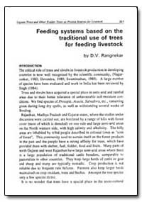 Feeding Systems Based on the Traditional... by Rangnekar, D. V.