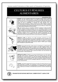 Cultures et Penuries Alimentaires by Food and Agriculture Organization of the United Na...