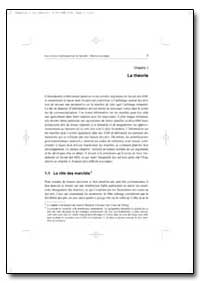 La Theorie by Food and Agriculture Organization of the United Na...