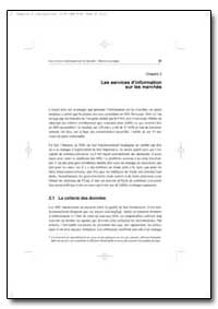 Les Services Dinformation sur les Marche... by Food and Agriculture Organization of the United Na...