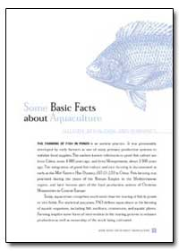 Some Basic Facts about Aquaculture by Food and Agriculture Organization of the United Na...