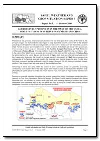 Good Harvest Prospects in the West of th... by Food and Agriculture Organization of the United Na...