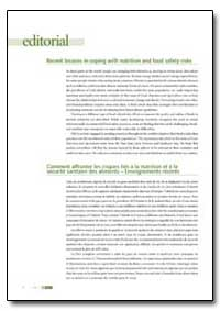 Recent Lessons in Coping with Nutrition ... by Food and Agriculture Organization of the United Na...