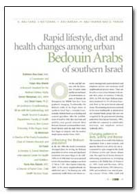 Rapid Lifestyle, Diet and Health Changes... by Abu-Saad, K.